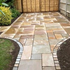 new modern patio