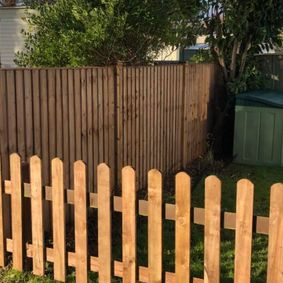 image of new fencing